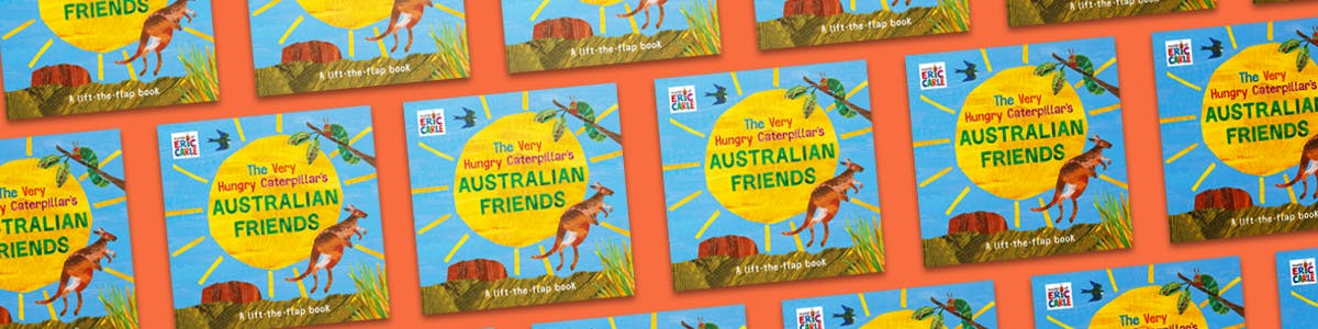 The Very Hungry Caterpillar's Australian Friends