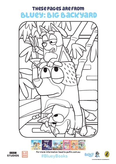 Bluey colouring-in activities for the whole family ...