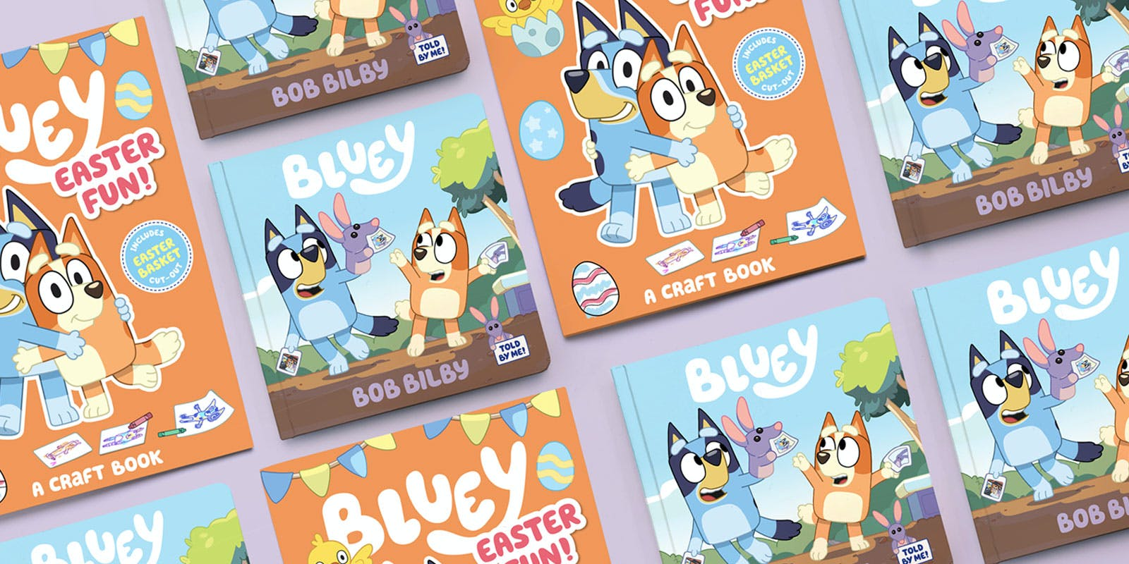 More Bluey books on their way in time for Easter!