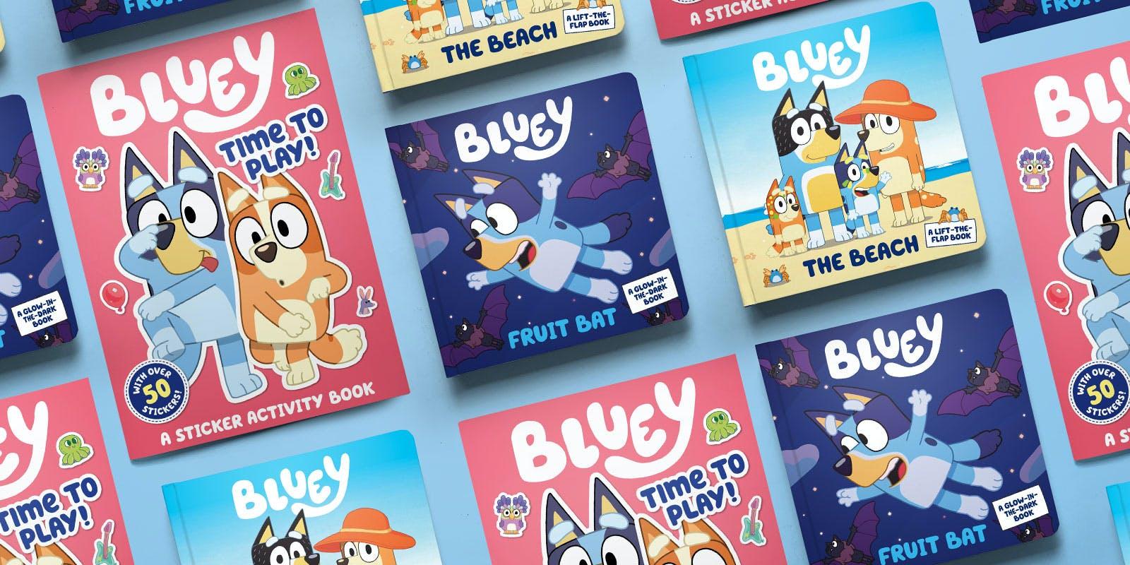 Bluey books arrive November