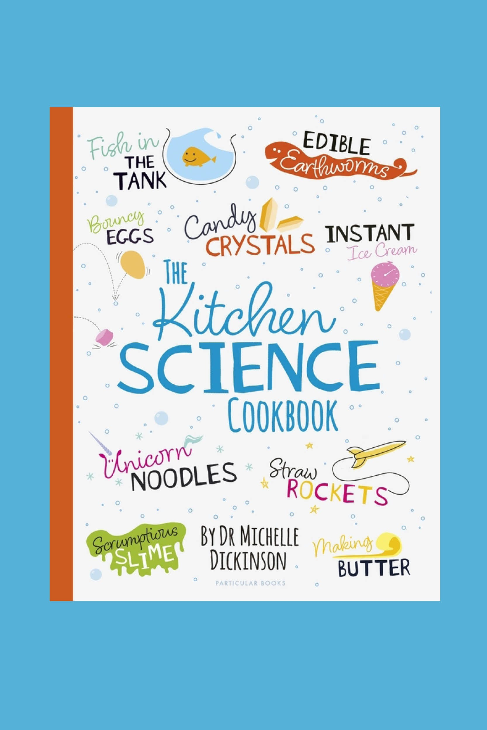 Bouncing Bubbles from The Kitchen Science Cookbook
