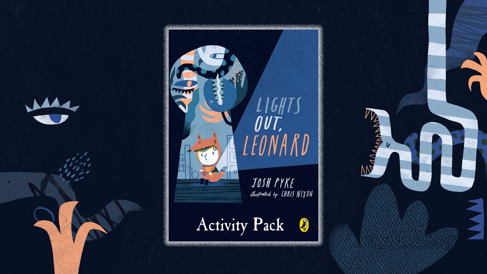 Lights Out, Leonard activity pack