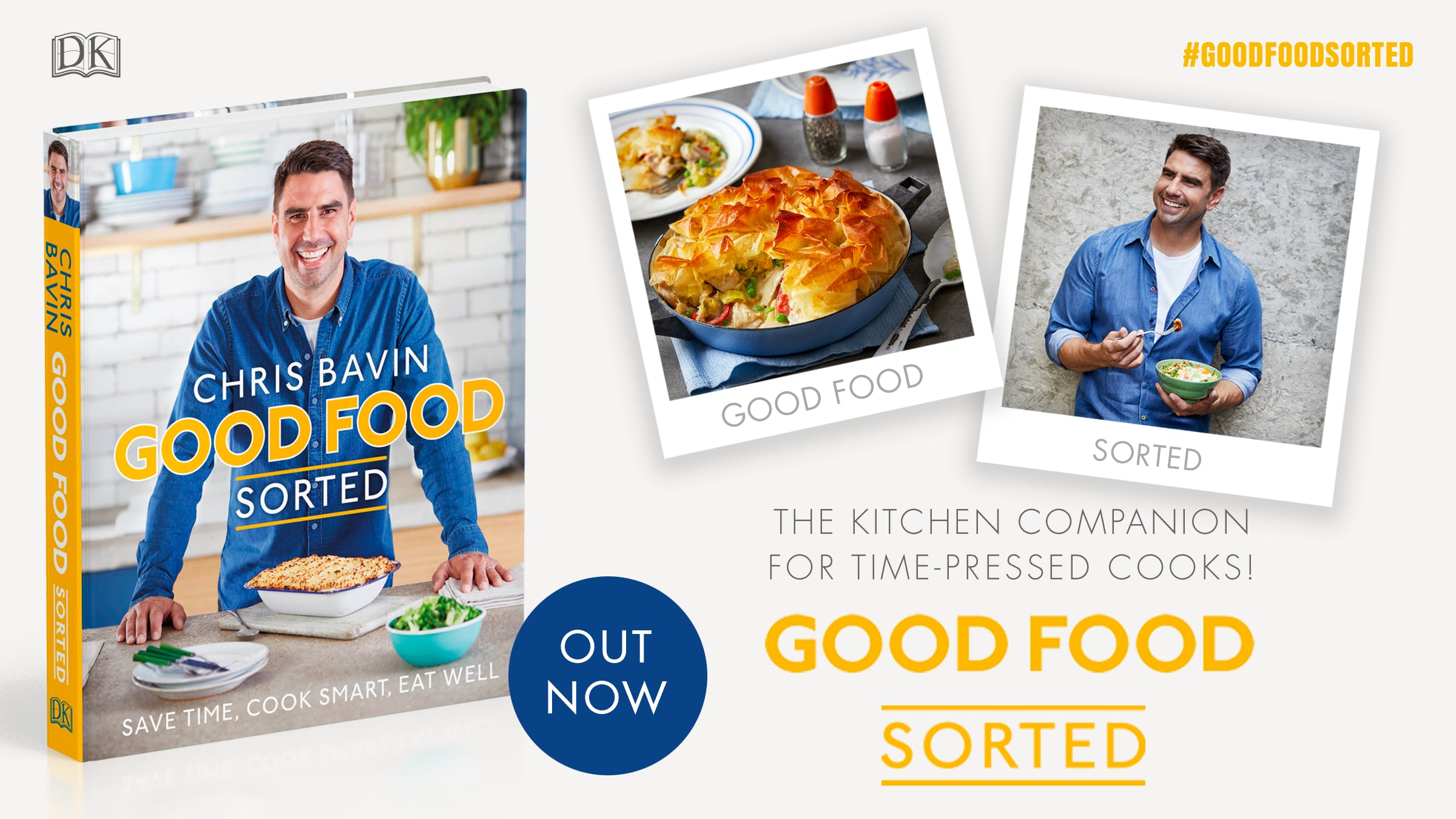 10 quick and healthy dinner ideas from Chris Bavin