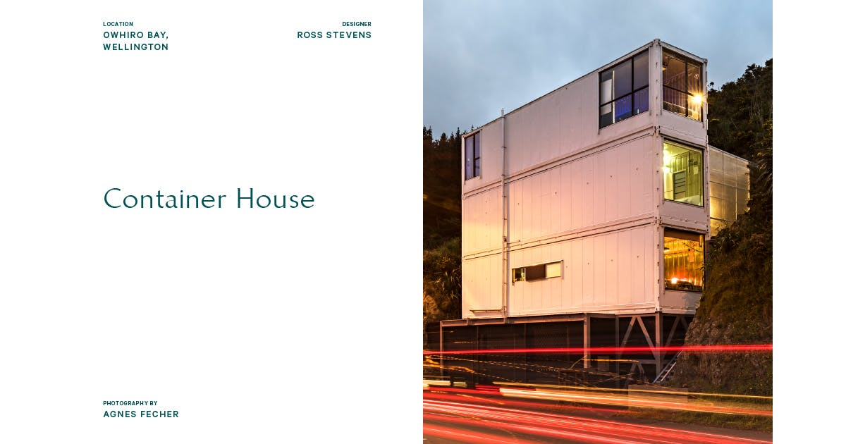 Container House Penguin Books New Zealand