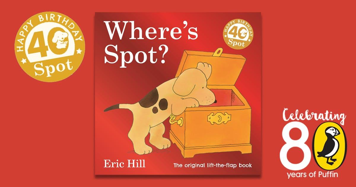 Happy 40th birthday, Spot!