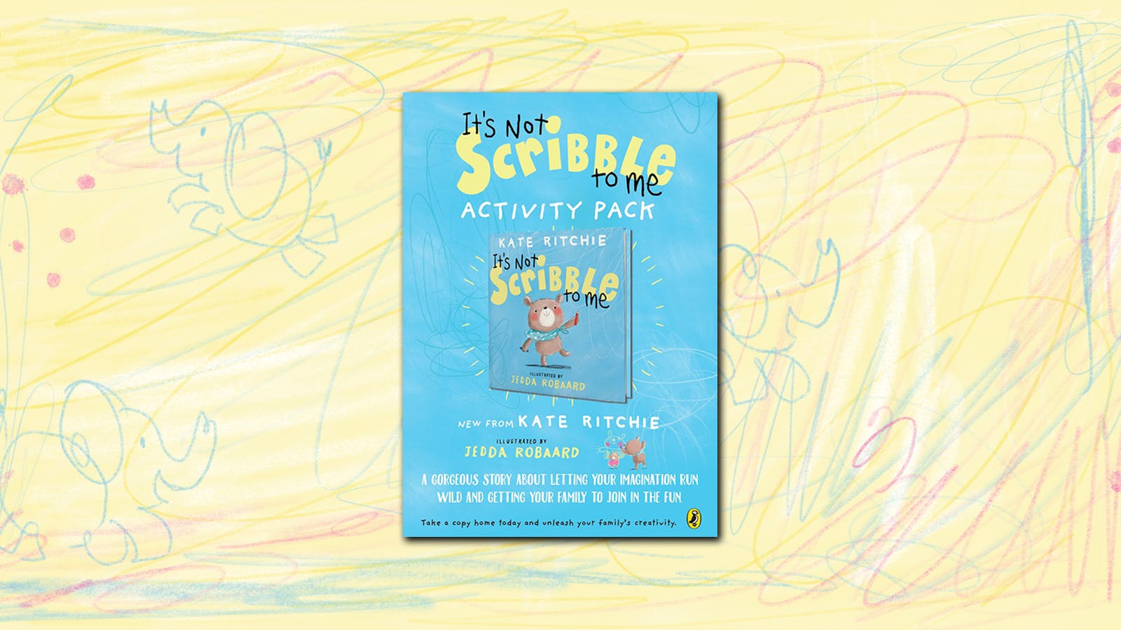 It's Not Scribble To Me activity pack