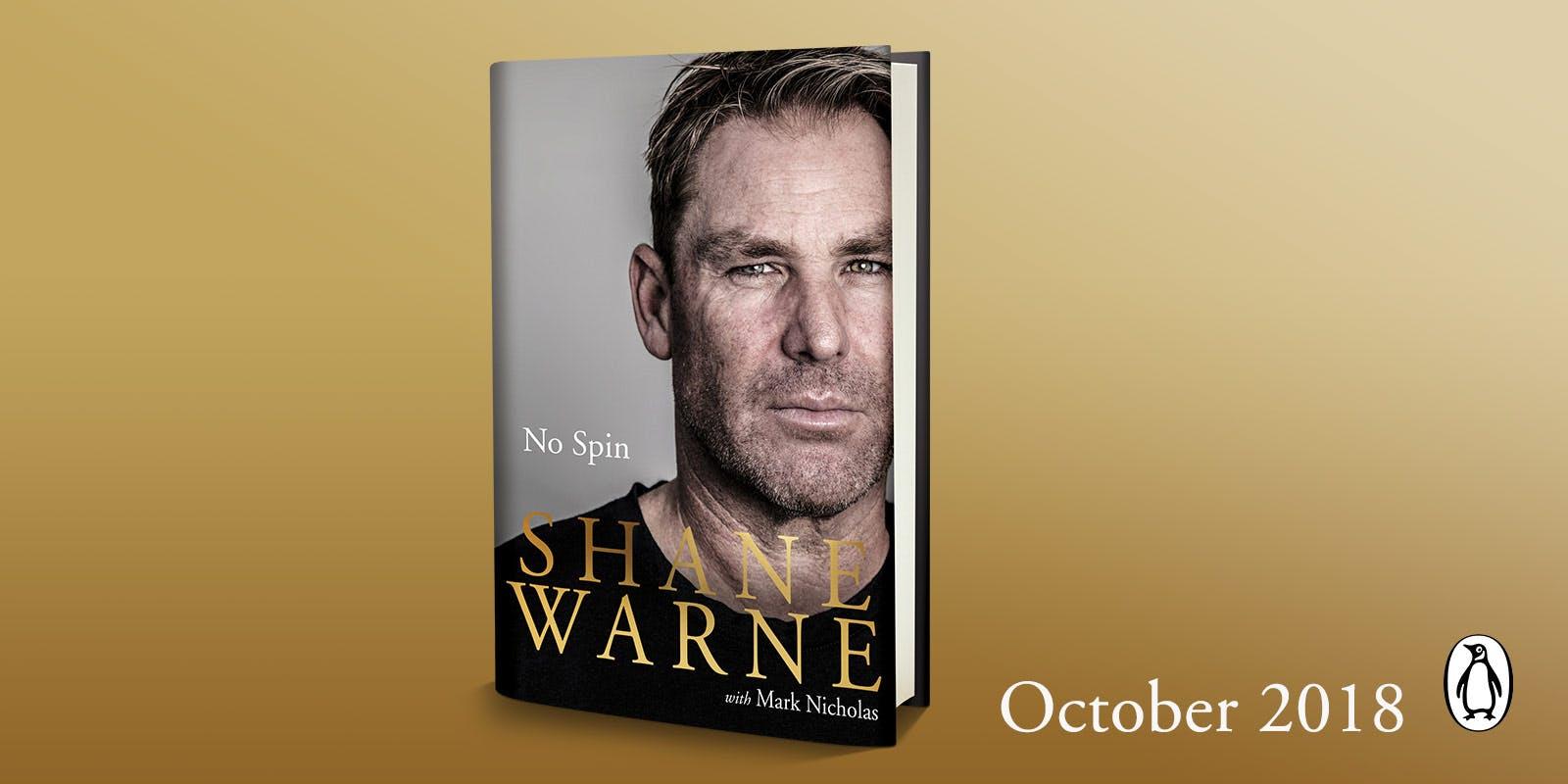 Announcing Shane Warne's memoir