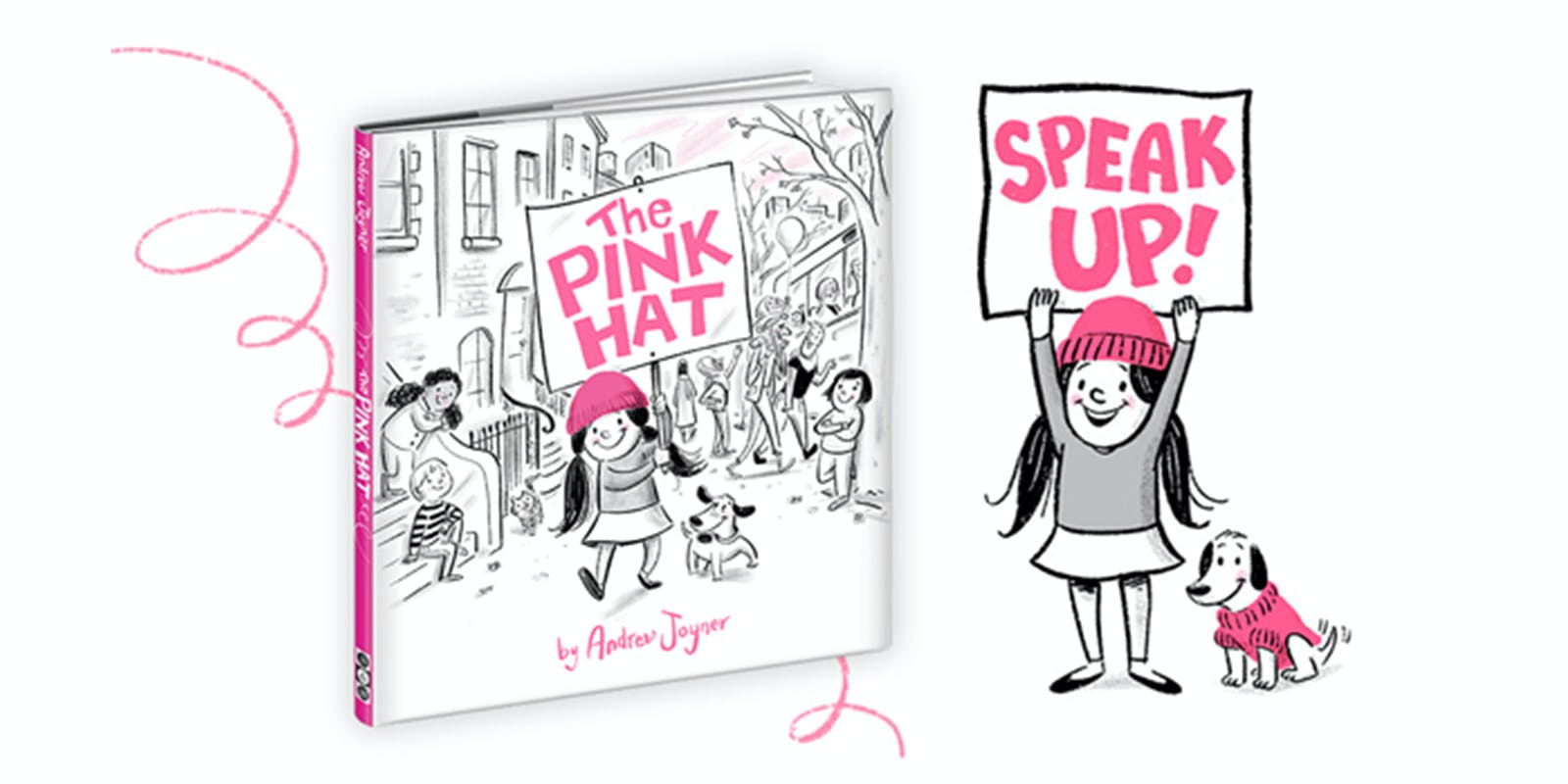 Vibrant picture book a tribute to Women's March