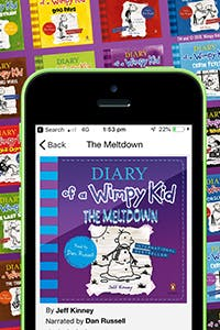 Jeff Kinney's Wimpy Kid series available now in audio