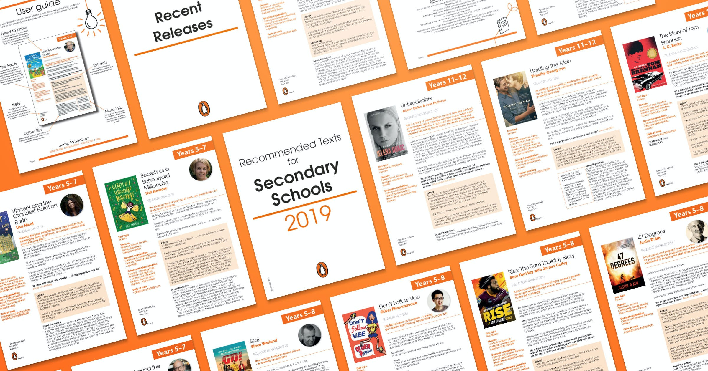 Penguin 2019 Secondary Catalogue