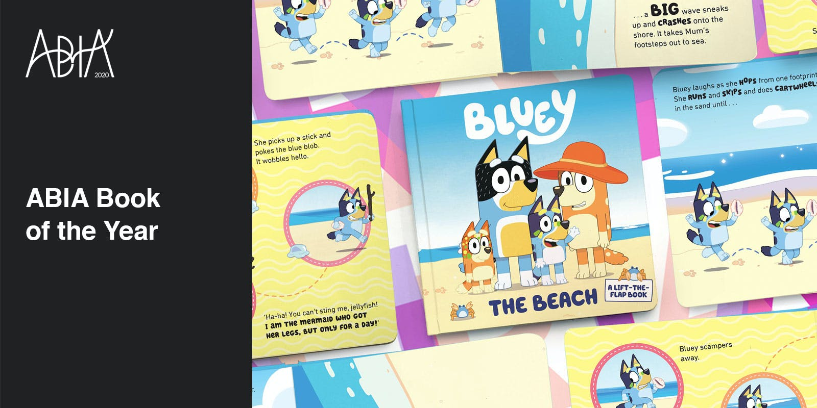 Bluey: the Beach wins 2020 ABIA Book of the Year