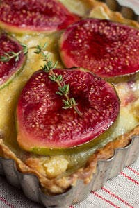 Fig and Camembert Tart