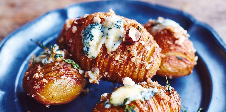 Jamie's hasselback potatoes
