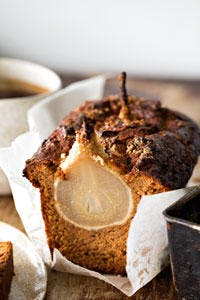 Honey Spice Pear Loaf