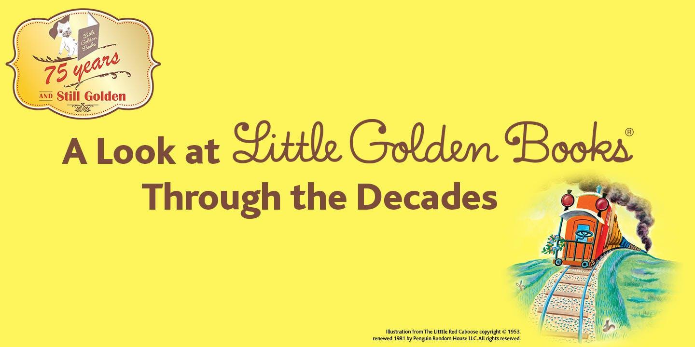 Little Golden Books through the decades