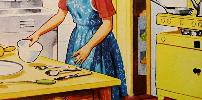 Memories of baking with Mum