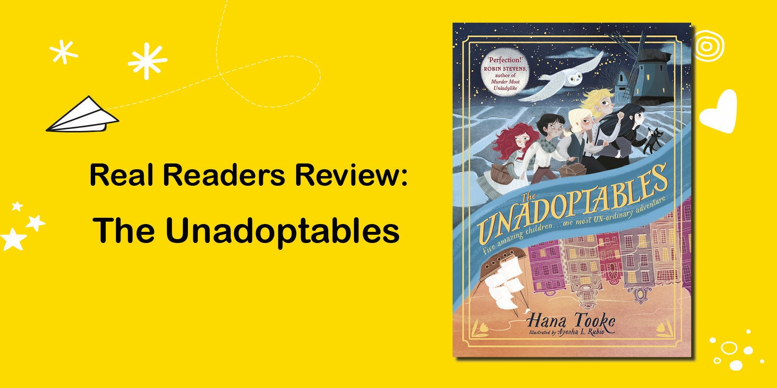 Real readers review: Orphans of the Tide