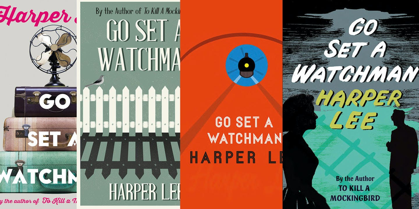 Rejected Watchman covers revealed