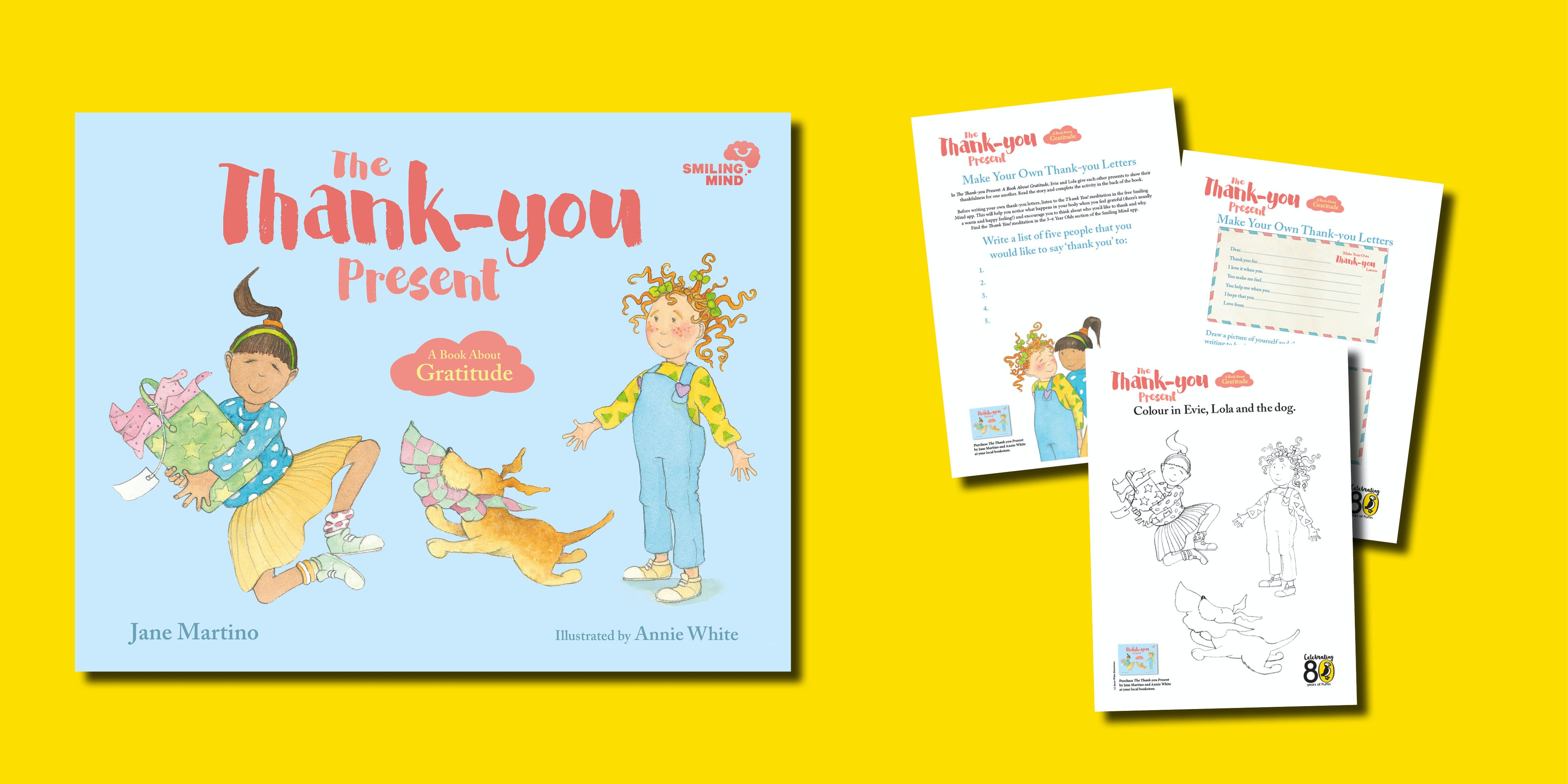 The Thank-you Present Activity Pack
