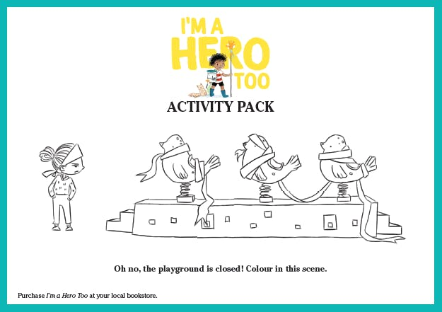 I'm a Hero Too Activity Pack